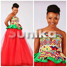 Modern Ndebele Traditional Wedding Dresses