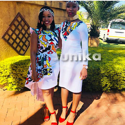 Traditional Ndebele Bridemaids Dresses