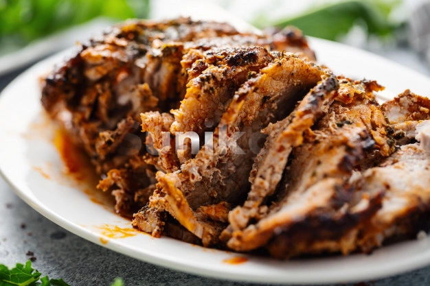 Baked Pork with Spices and Herbs