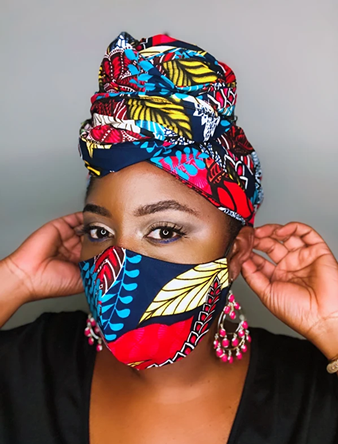 Fashionable Masks African Print