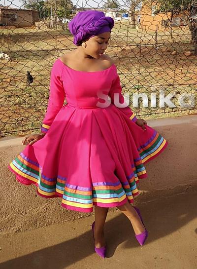Traditional Pedi Dresses 2019 - Sunika Traditional African ...