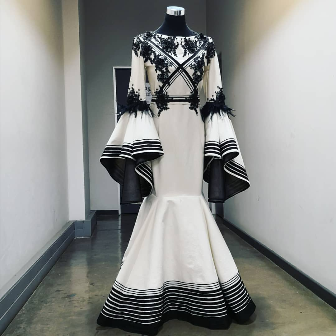 Beautiful Xhosa Traditional Wedding Dress