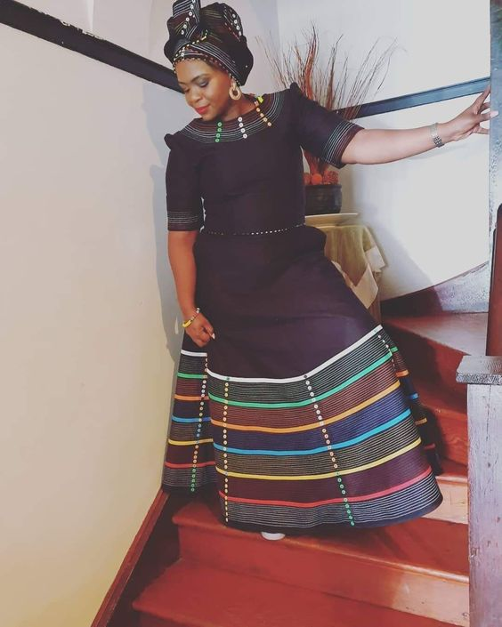 Lovely Xhosa Dress