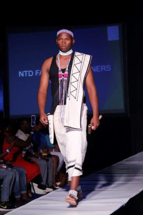 Model in Elegant Xhosa Traditional Wea