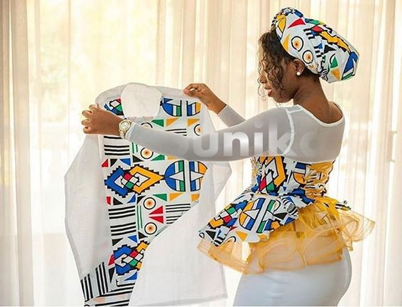 Modern Ndebele Traditional Dress Designs