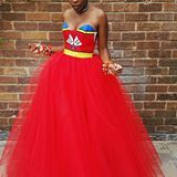 Swazi Traditional Wedding Dress