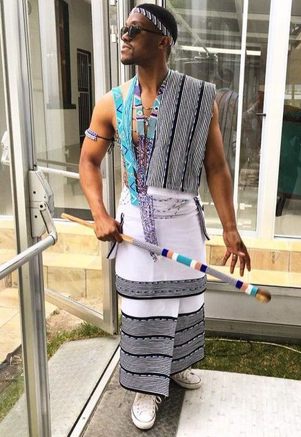 Traditional Xhosa Attire For Men