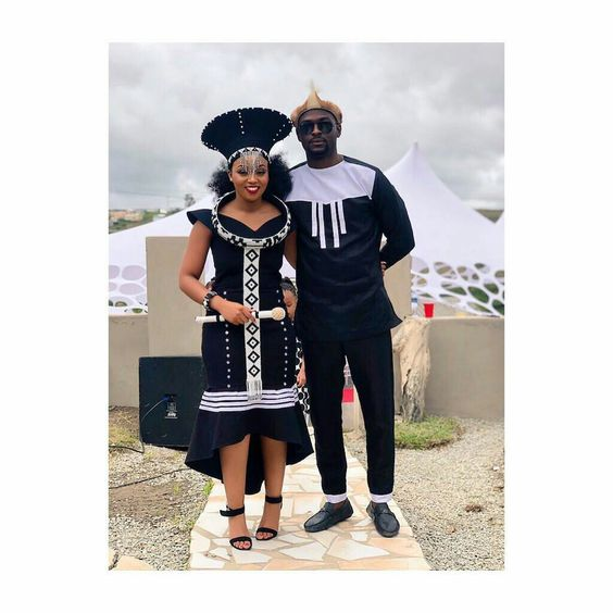 Xhosa Attire For Couples