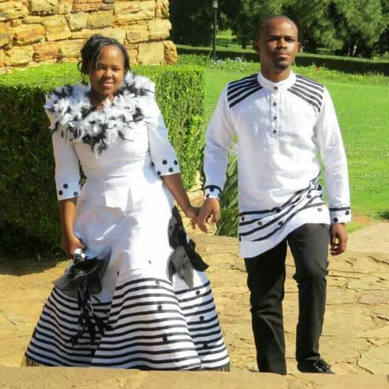Xhosa Matching Attire for Couples