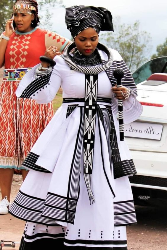 Xhosa Traditional Wedding Dress