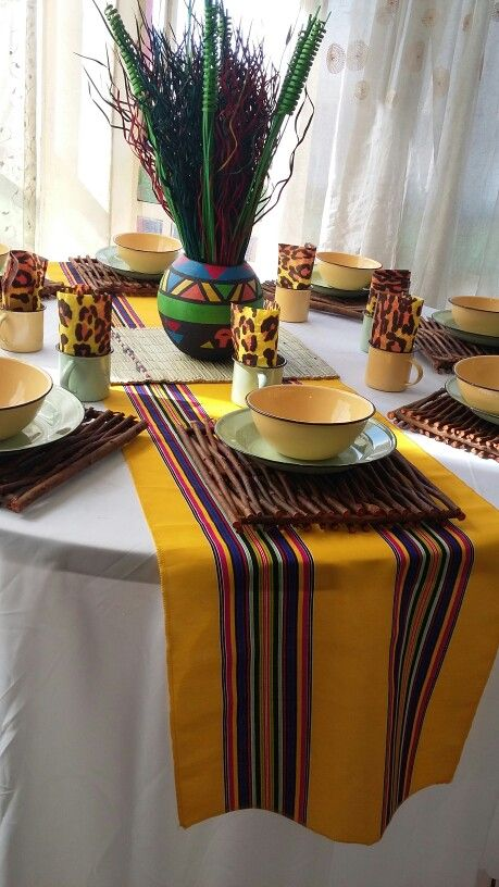 Venda Traditional Wedding Decor