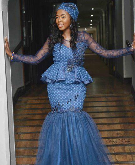 Traditional Wedding Dresses 2019 South Africa: Shweshwe Dresses For Makoti