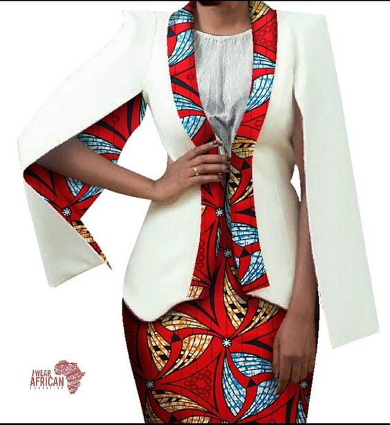African Print Jacket 1