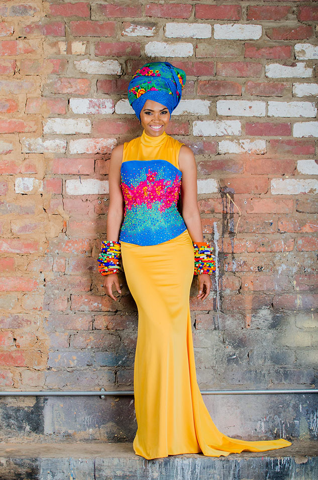 Tsonga Inspired Dress