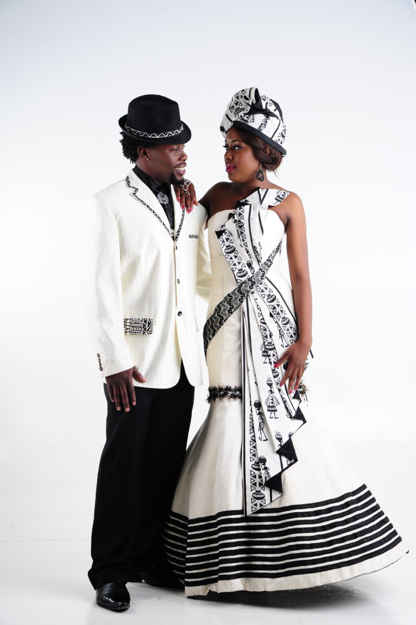 Xhosa-inspired-wedding-attire by Shifting Sands