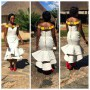 Venda Inspired Wedding Dress