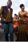 Brown Shweshwe Wedding Dress